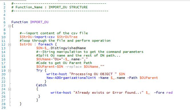benutzer exportieren import active directory