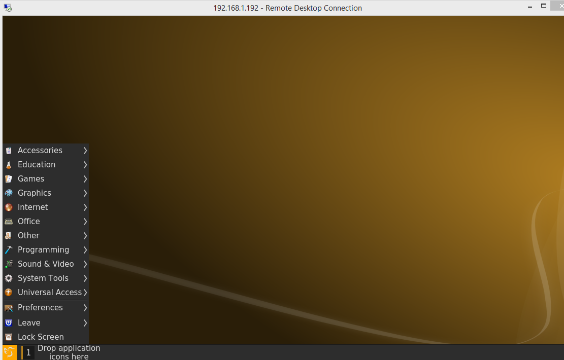 Ubuntu 14 10 – LXQT as alternative Desktop for XRDP