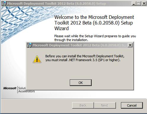 Deploy OS using MDT 2012 beta 2 – Part I : Installing MDT