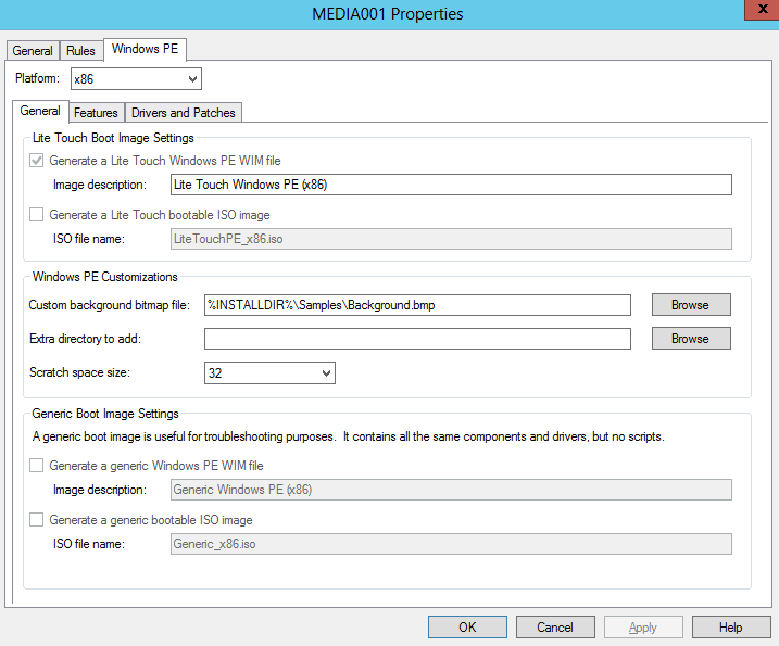 MDT 2012 – Create a Deployment Media – Griffon's IT Library