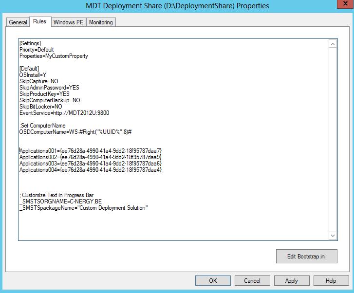 MDT 2012 PART IX- Applications and Applications Bundle