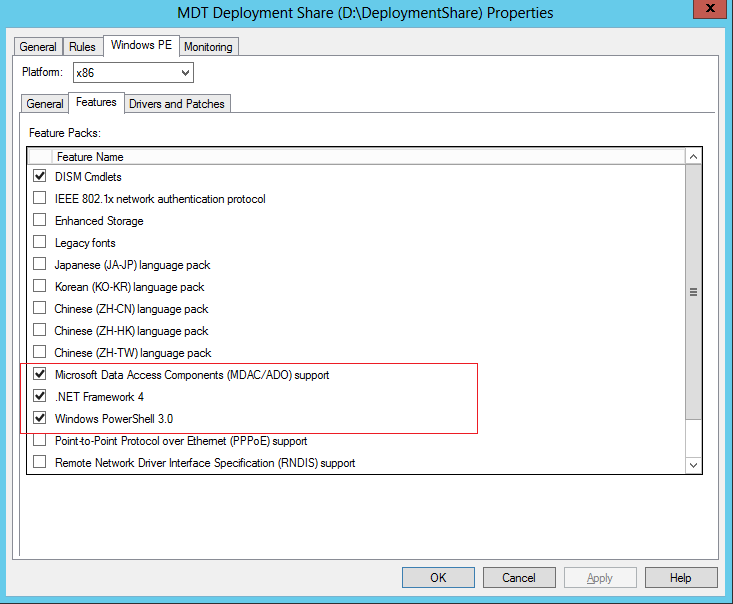 MDT 2012 PART X – Using PowerShell Script with your Task