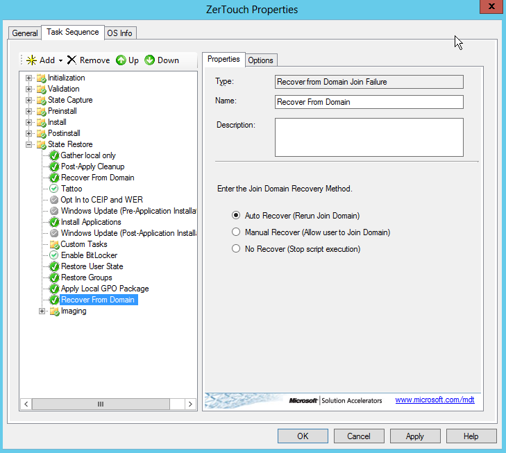 MDT 2012 Part XI- How to Join Computer to Domain – Griffon's