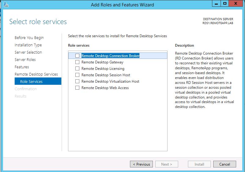 RDS – Remote Desktop Services Roles – Part II – Griffon's IT