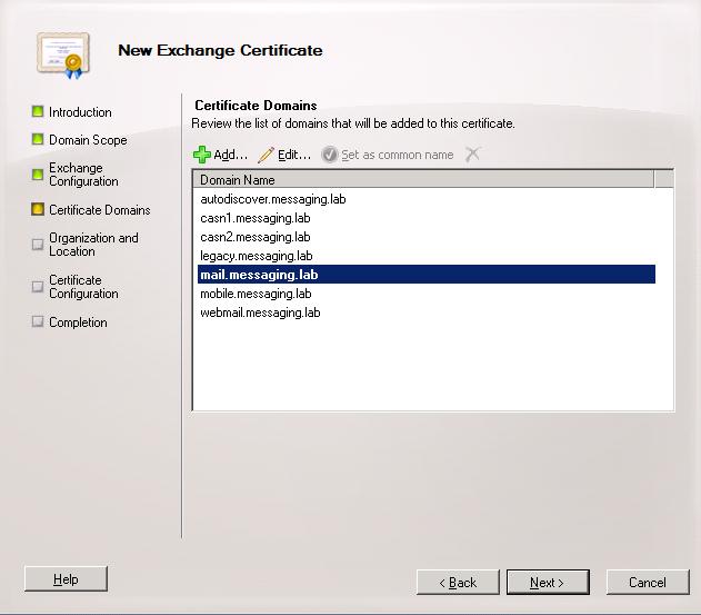 Ssl Certificate Exchange 2010 Gallery Creative Certificate Design