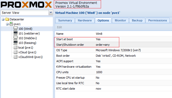 Datasoft Networks - Proxmox