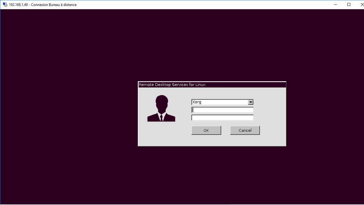xRDP – Our Customized xRDP login screen – Griffon's IT Library