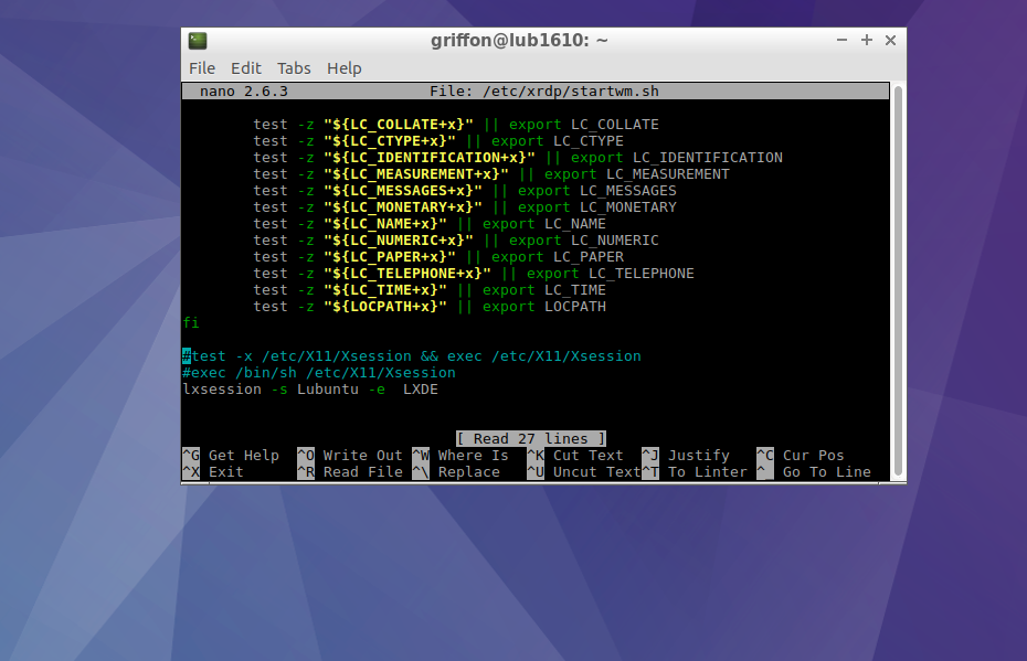 xRDP – How to Install on Lubuntu 16 10 – Griffon's IT Library