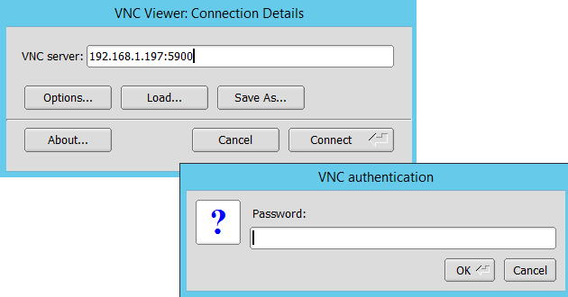how to tell if x11vnc is running