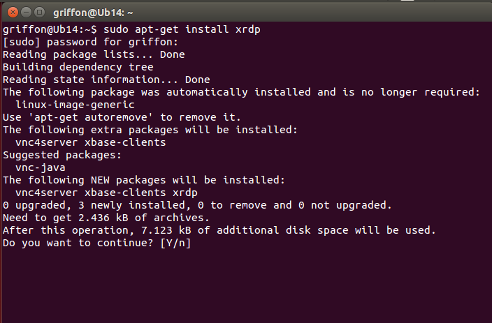 Ubuntu 14 10 – How to install XRDP and have it working