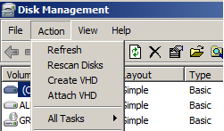HowTo use Disk2VHD Utility – Griffon's IT Library