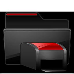 Folder-Printers-black-red-256