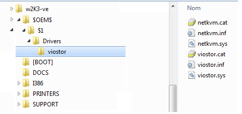 Proxmox VE – Paravirtualized Drivers & Windows 2003 virtual