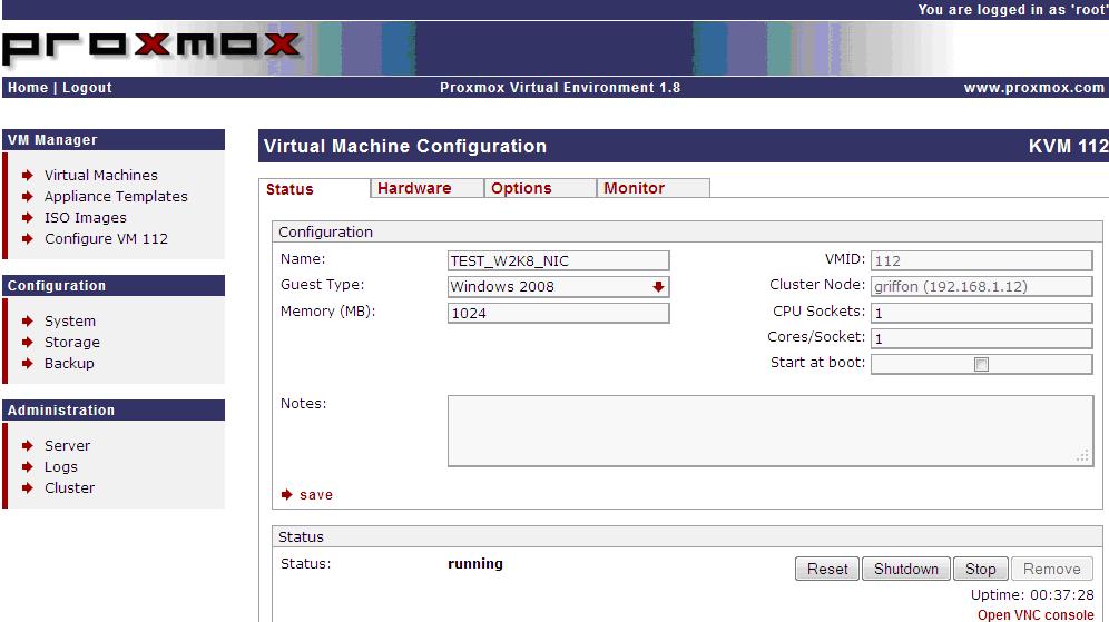 Proxmox VE – Convert IDE Disk to Virtio in Windows 2008 R2/Windows 7