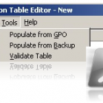 Using Powershell to generate Group Policies migration table