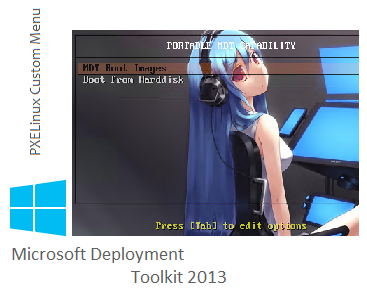 MDT 2013/WDS Win 2012R2 – using pxelinux as pxe boot loader
