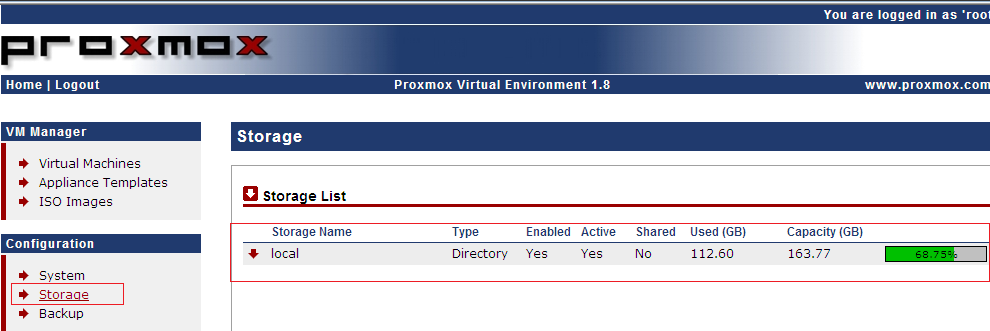 Proxmox VE – Raw Disk format, Real size vs Used Size