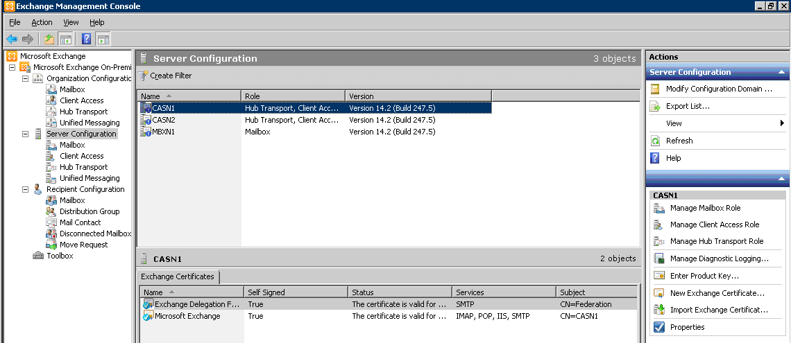 Exchange SP2 on DAG Members – Quick How To – Griffon's IT Library