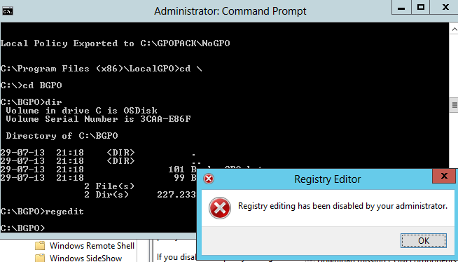 MDT 2012 – Apply Local GPO through Task sequence – Part II