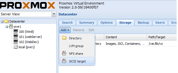 Proxmox VE 2 0 – Resize Virtual Disk of a Virtual machine stored on