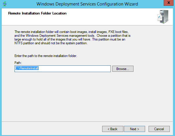 MDT 2013 – Standalone WDS in Windows 2012 R2 – Griffon's IT