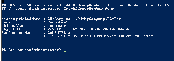 Powershell Tip – Add computers to Group using ADD