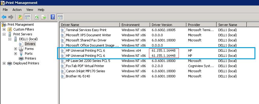 64-bit Drivers for Printers on a 32-Bit Print Server – How