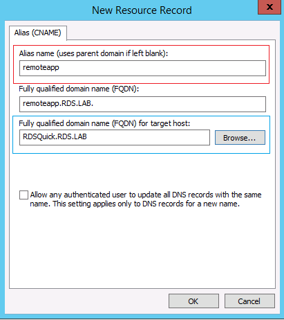 RDS – More configuration for RemoteApp Access – Part VI – Griffon's