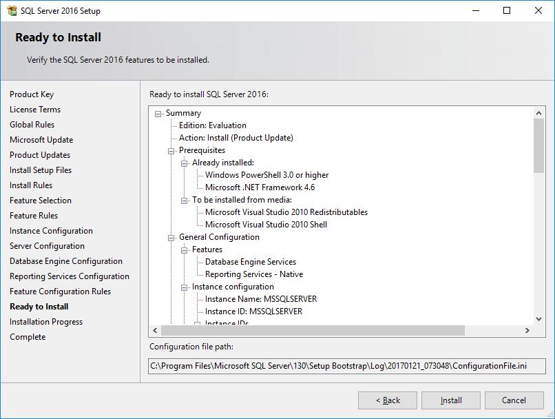 How To – Setup SQL 2016 – Part I – Manual Installation – Griffon's