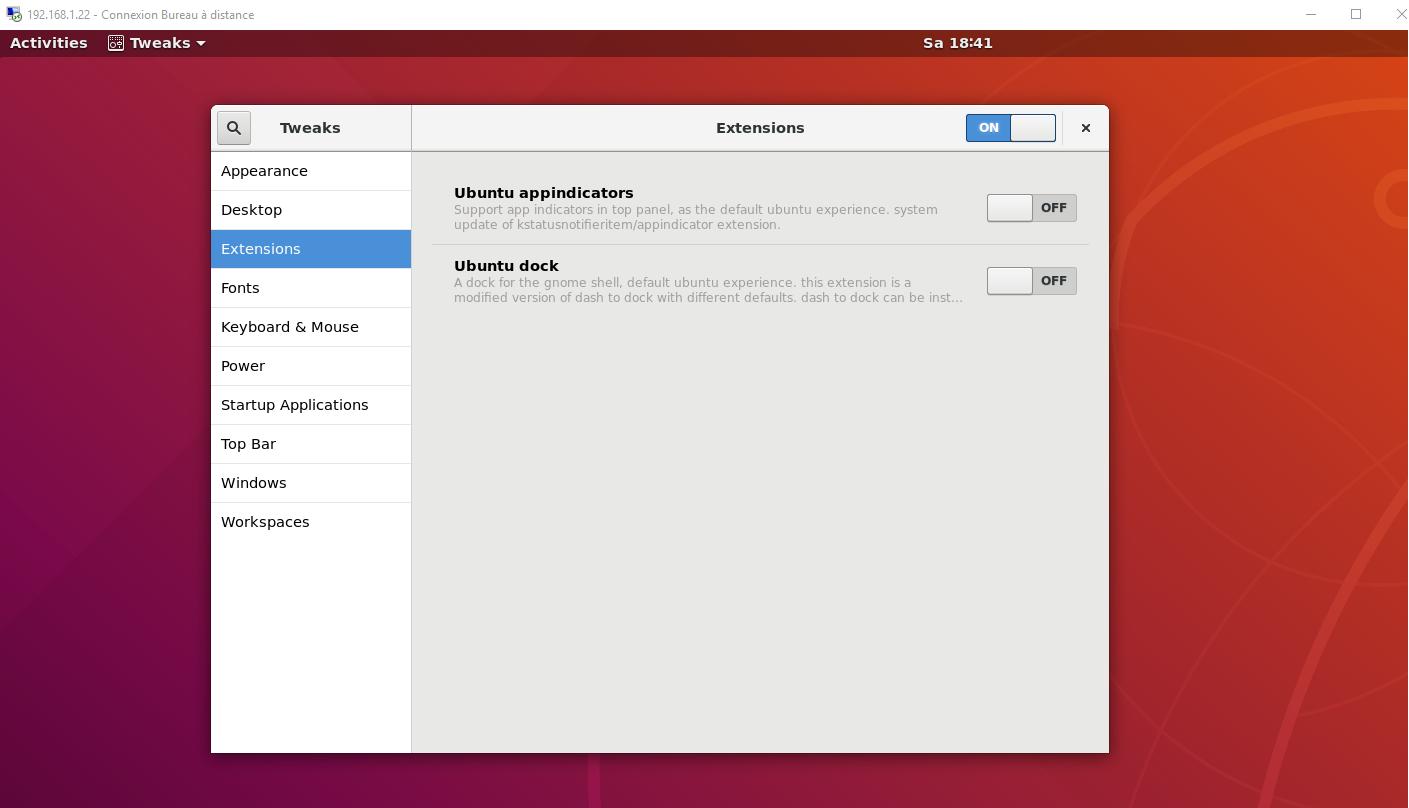 xRDP – How to Fix Theme issues in Ubuntu 18 04 remote