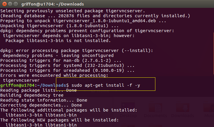 Ubuntu 17 04 – Configure TigerVNC Server to start at boot