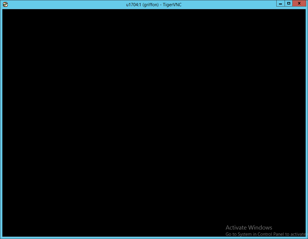 Tigervnc Black Screen - Best Picture Tiger In The World