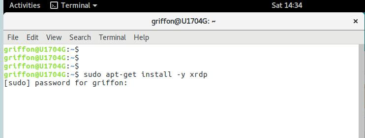 XRDP – HowTo install on Ubuntu Gnome 17 04 – easy way – Griffon's IT