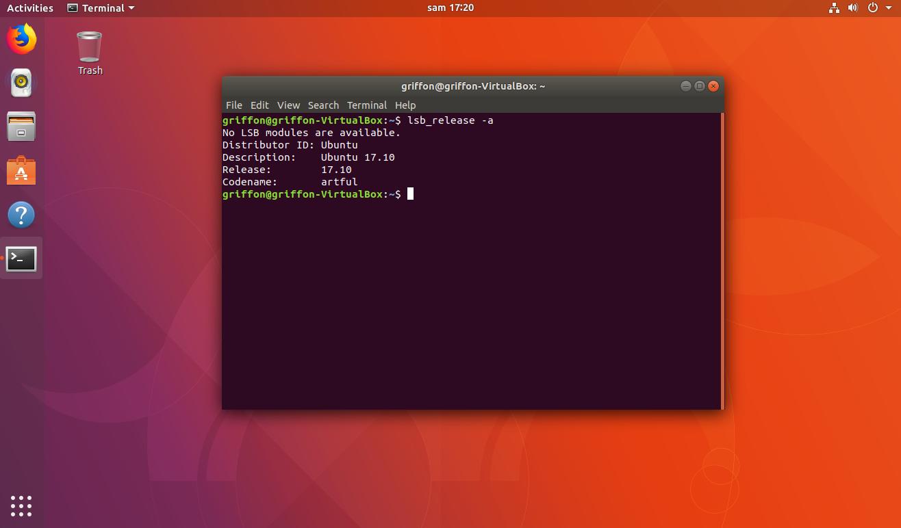 Ubuntu 17 10 – Change login Background – Part I – Griffon's IT Library
