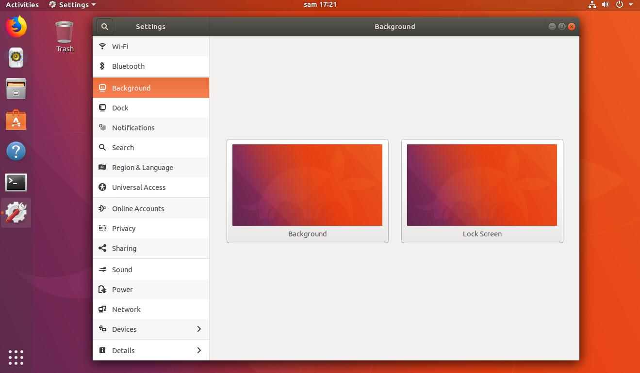 Ubuntu 17 10 – Change login Background – Part I – Griffon's