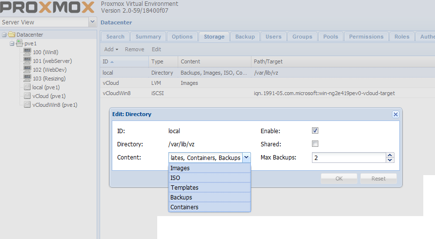 Proxmox VE 2 0 – Move VM files from one Storage Location to