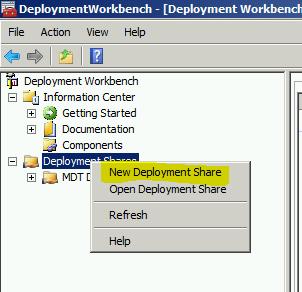 MDT 2013 – Standalone Configuration – Part II : Add WDS