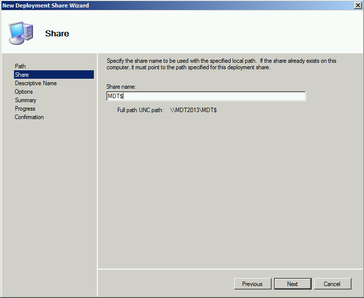 MDT 2013 – Standalone Configuration – Part II : Add WDS
