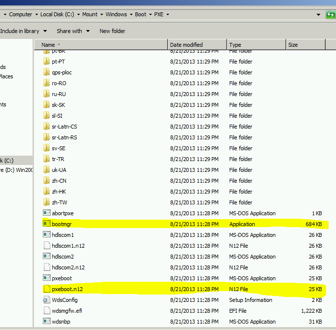 MDT 2013 – Standalone Configuration – Part II : Add WDS Components