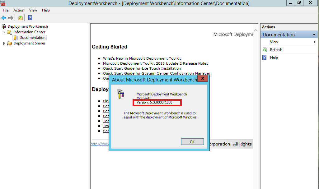 MDT – MDT Build Numbers,ADK build Numbers,Which version to