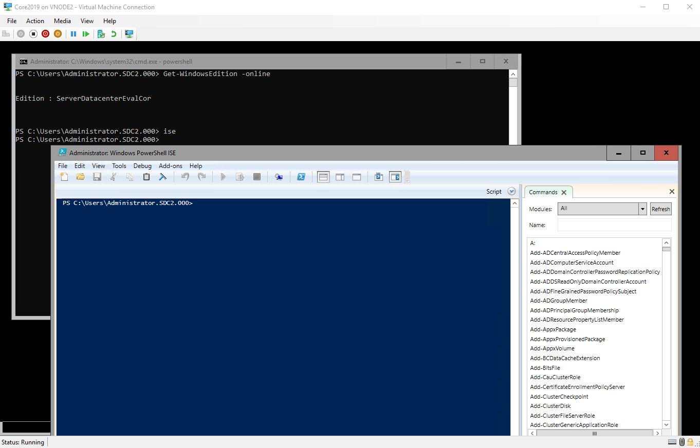 Windows 2019 – Feature on Demand Server Core App Compatibility