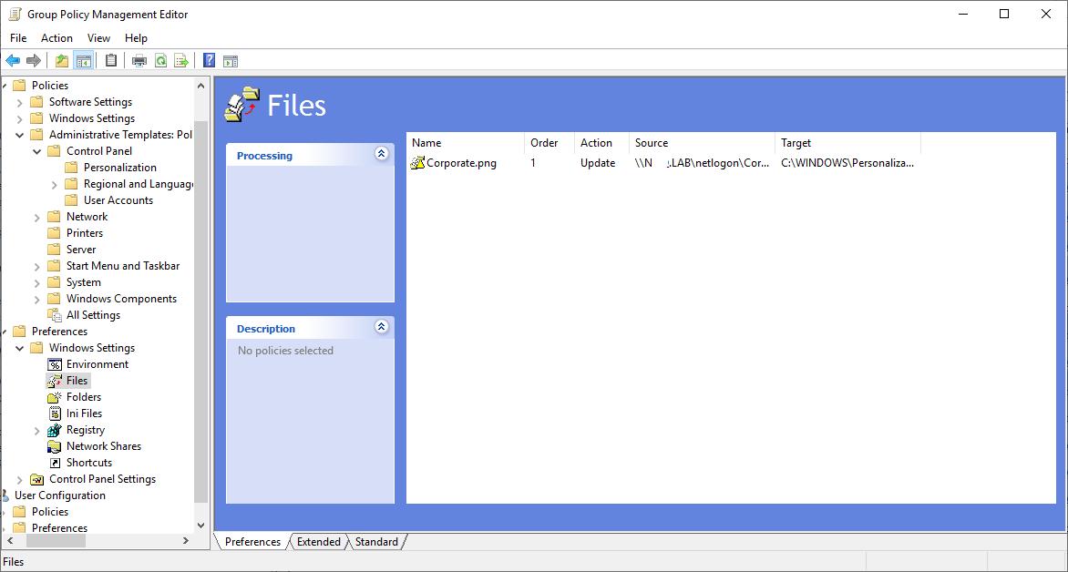 Windows 10 Customize The Login Screen On Windows 10 Using A Gpo Griffon S It Library